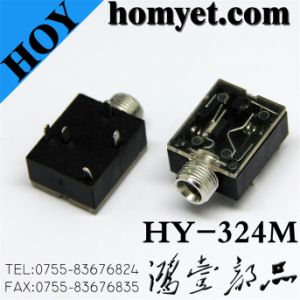 High Quality Manufacturer 3.5mm Phone Jack with SMT (Hy-324m) pictures & photos