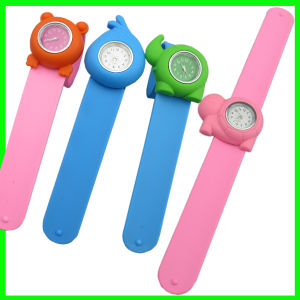Silicone Slap Band Watches for Boys