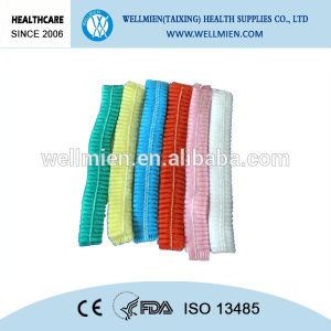 Nonwoven Bouffant Cap Disposable Medical Clip Cap pictures & photos