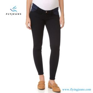 OEM Fashion Skinny Denim Jeans Ladies Maternity Leggings pictures & photos