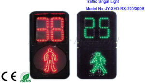 Square Plastic Crosswalk Signal with Countdown Timer / Pedestrian pictures & photos