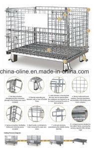 Bulk Steel Storage Warehouse Cage pictures & photos