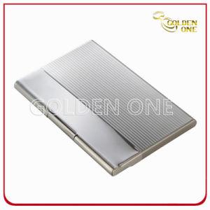 Briefcase Break Line Square Metal Business Card Case pictures & photos