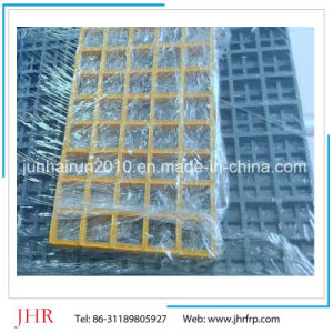 FRP Grating Floor Square Mesh Gritted pictures & photos