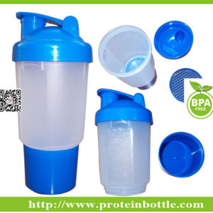 600ml Nutrition Shaker with Ball pictures & photos