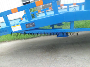 Portable Height Adjustable Loading Dock Ramp pictures & photos