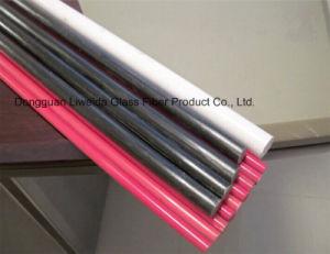 Good Flexibility Fiberglass FRP GRP Pultruded Bar/Rod with Light Weight