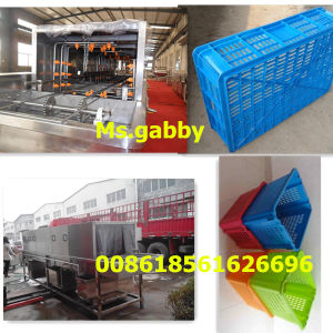 Turnover Basket Washing Cleaning Machine pictures & photos