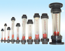 Flange Air Water Plastic Liquid Flow Meter Tube Rotameter pictures & photos