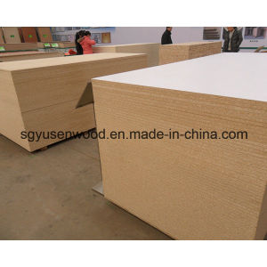 White Melamine Particle Board E1 Grade Particle Boar pictures & photos