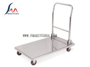Folding Stainless Steel Trolley pictures & photos