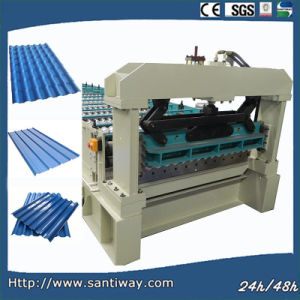 Automatic Galvanized Metal Ibr Roof Sheet Cold Roll Forming Machine pictures & photos