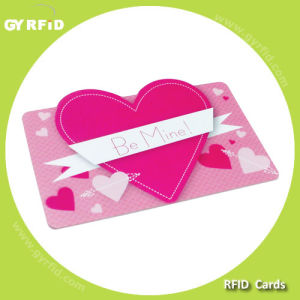 ISO Em4100/ Em4102 Proximity RFID PVC Card for RFID Systems (GYRFID) pictures & photos