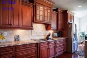 Luxury Design Display Plywood Kitchen Cabinets For Sale