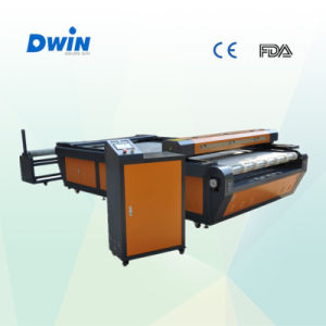 Jinan Factory 80W Fabric Laser Cutting Machine (DW1626) pictures & photos
