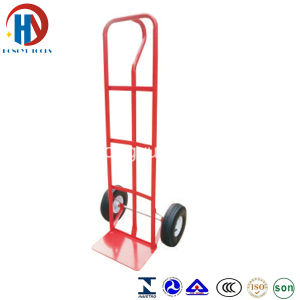 Free Sample 200kg Welding Hand Pull Truck Trolley (HT1805) pictures & photos