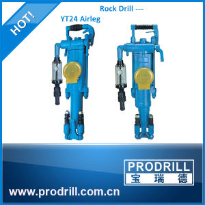 Most Efficient Hand Held Rock Drill Yt24 for Drilling Operations pictures & photos