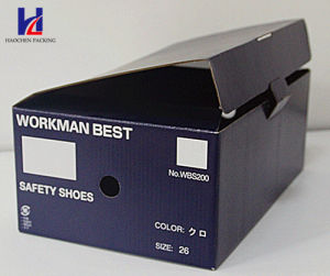 Hot Sale Corrugated Packaging Shoes Carton Box pictures & photos