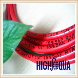 Smooth Surface Red and Colorful Hydraulic Hose pictures & photos