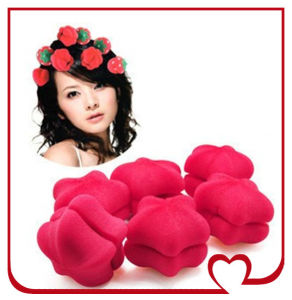 2014 New Wholesale Sponge Hair Roller Hottest Magic Sponge Hair Waver Girl′s Hair Curler pictures & photos