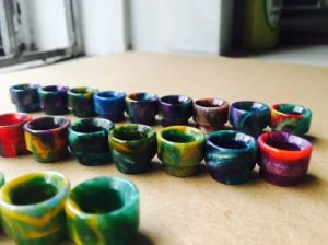 AV Wide Bore Mouthpiece Epoxy Resin Drip Tip 510 Driptips pictures & photos