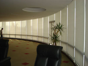 Office Window Saving Energy Curtain Fabric (heating reflection) pictures & photos