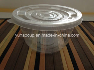 Disposable Plastic Food Container with Lid (YHP-175) pictures & photos