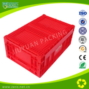 Folding Box Plastic Crate for Supermarket Useage Storage and Transport pictures & photos