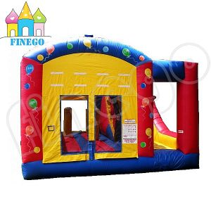 2016 Cheap Price Commercial Inflatable Bouncy Castle with Slide pictures & photos