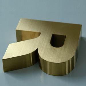 Built up 3D Metal Stainless Steel Letter pictures & photos