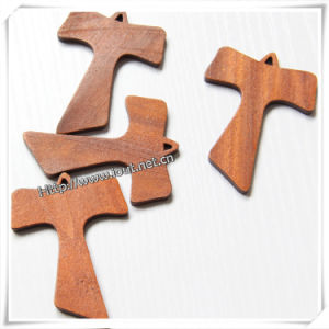 High Quality Solid Wood Cross, Wholesale Decorative Cross (IO-cw026) pictures & photos