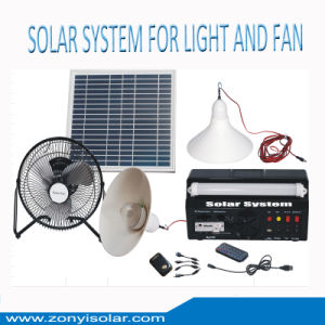 Portable Solar Home System for LED Light Fan pictures & photos