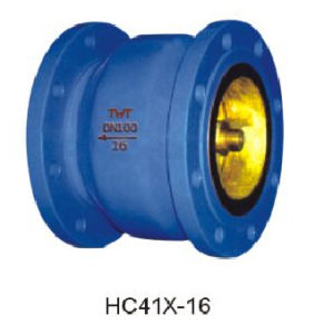 Energy Conservation Noise Elimination Check Valve pictures & photos