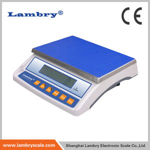 Ce Approved 6kg/0.2g Bw-II Weighing Scale with LCD Backlight Display