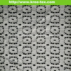 Geometry Design Cotton Nylon Lace Fabric 598