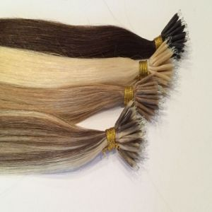 European Remy Nano Ring Human Hair Extension pictures & photos