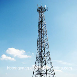 Telecommunication Galvanized Steel Lattice Tower with 4 Legs pictures & photos