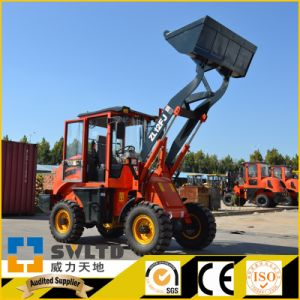 Small Wheel Loader Pormotion Zl 12f Wheel Loader for Sale pictures & photos