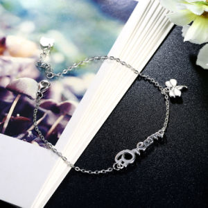 925 Sterling Steel Bracelet Dream Hot Sale Dragonfly Shape Pendant Bracelet Sterling Silver Jewelry pictures & photos