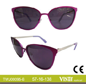 High Quality Fashion Metal Sunglasses Eyewear with New Style (95-C) pictures & photos