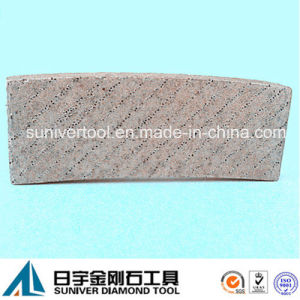 Diamond Aligned Arix Diamond Segment for Cutting Stone pictures & photos