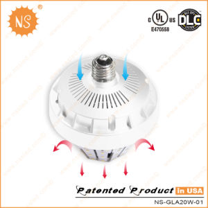 UL Dlc 20W LED Stubby Lamp with 360 Degree E27 E40 pictures & photos