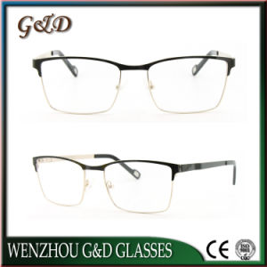 Popular New Style Metal Eyewear Eyeglass Optical Frame 49-501 pictures & photos