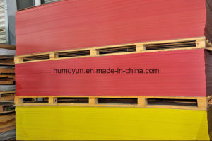 Weather Resistant outdoor Advertising Transparent Red Acrylic Sheet