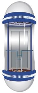 Transparent Glass Sightseeing Elevator/Panoramic Lift (ATRB-G01) pictures & photos