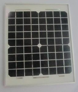 18V 10W Monocrystalline Solar Power System Panel PV Module with Ce Approved pictures & photos