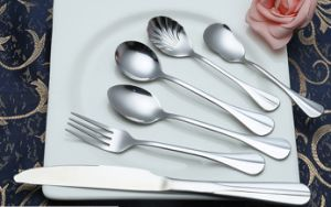 Mirror Polished Stainless Steel Cutlery for Tableware (B22) pictures & photos
