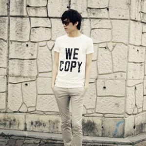 Printed Men′s T-Shirt (CM128)