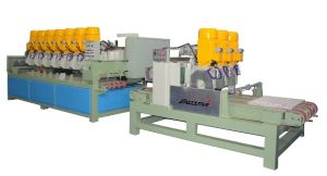 Artificial Marble Tile Cutting Line pictures & photos