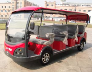 Hot Selling and New Design Luxury Electric Sightseeing Bus with 11 Seats